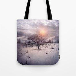 Lone Tree Love II Tote Bag