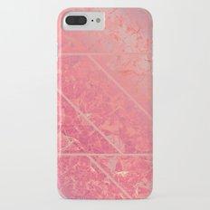 Pink Marble Texture G281 Slim Case iPhone 7 Plus