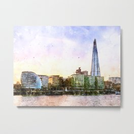 London, The Shard Metal Print