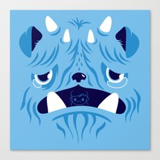 The Bluest Monster Ever :(( Canvas Print