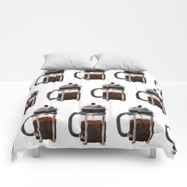 French Press - Brown Comforters