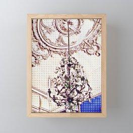 Chandelier Framed Mini Art Print