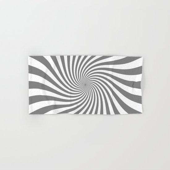 Swirl (Gray/White) Hand & Bath Towel