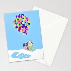 UP!  Stationery Cards