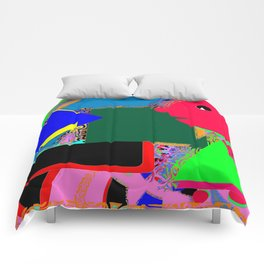 The man at the piano Comforters