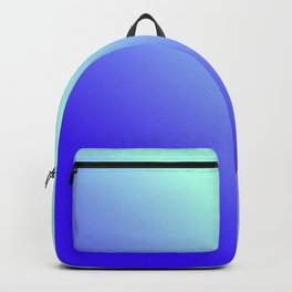 Green and blue Gradient / GFTgradient004 Backpack