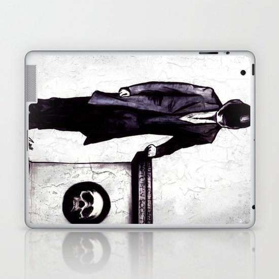 Life's Course You Flunk, Compute and Cyberpunk Laptop & iPad Skin