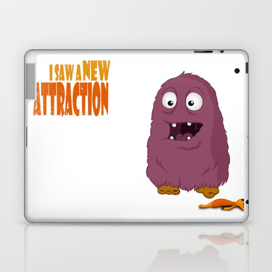 New Attraction Laptop & iPad Skin