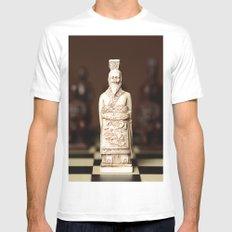 Chinese chess King Mens Fitted Tee White MEDIUM
