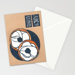 Bagels & Joy Stationery Cards