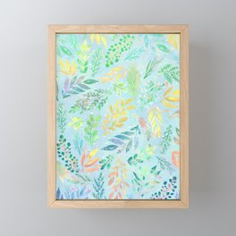 Nature In Colors 10 Framed Mini Art Print