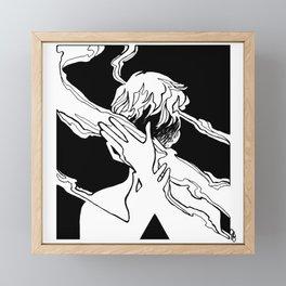 Smoke 15 Framed Mini Art Print