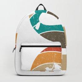 Ganges  TShirt River Rafting Shirt Rafter Gift Idea Backpack