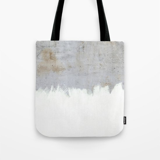 Painting on Raw Concrete Tote Bag