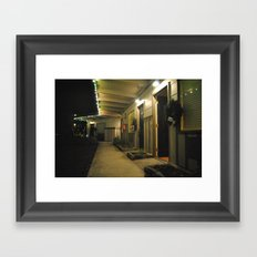 Night Moves Framed Art Print