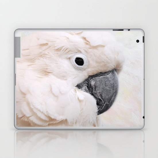 Umbrella Cockatoo Laptop & iPad Skin
