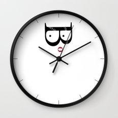 Garamond Catwoman Wall Clock