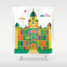 Denton Courthouse Shower Curtain