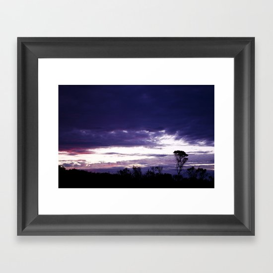 Hamptons Sunset Framed Art Print