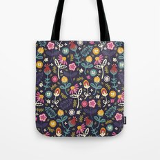 Ditsy Flowers Tote Bag