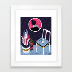 looking@u Framed Art Print