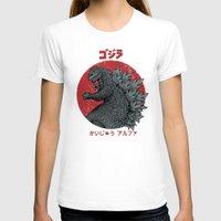 T-shirts featuring Gojira Kaiju Alpha by pigboom el crapo