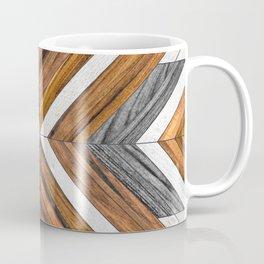 Urban Tribal Pattern No.4 - Wood Coffee Mug