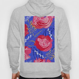 Marsala #illustration #pattern Hoody