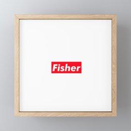 Fisher Framed Mini Art Print