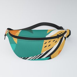 Jungle Abstract Fanny Pack