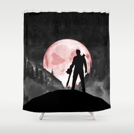 Rudeboy Ash Shower Curtain
