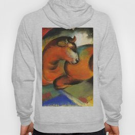 """Franz Marc """"Roter Stier"""" Hoody"""