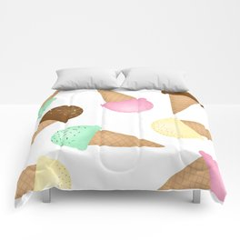 Ice Cream Pattern Comforters
