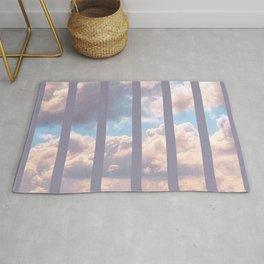 Striped Clouds Rug