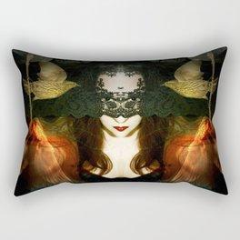 Madame Mayhem Rectangular Pillow