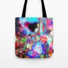 Boston Lights Remix Tote Bag