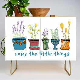Enjoy the Little Things Credenza