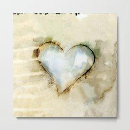 Love Unfolding No.26A by Kathy Morton Stanion Metal Print