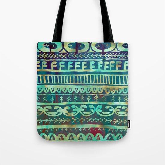 Noni- Green Tote Bag