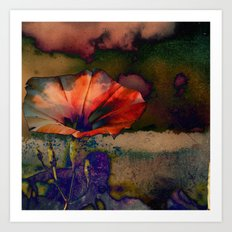 Her Dreams Were Vivid and Colorful Art Print