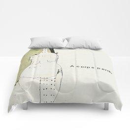 « à corps perdu » Comforters