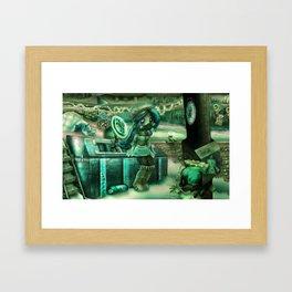 Havoc Harbor Framed Art Print