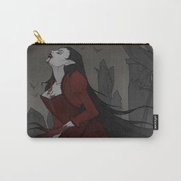 Drawlloween Vampire Carry-All Pouch
