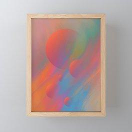 FRESHNESS OF SPRING Framed Mini Art Print
