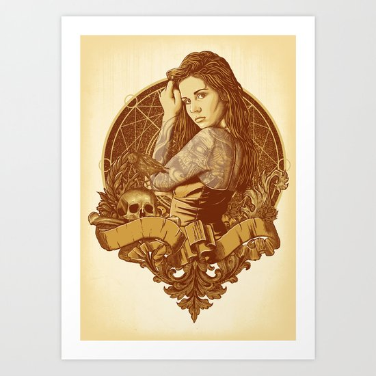 Death Angel Art Print
