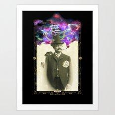 Odd Huntsman Art Print