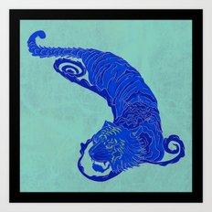 Crouching Tiger Hidden Dragon Art Print