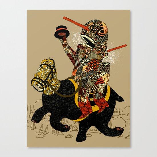 Hooray Canvas Print
