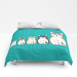 Matryoshka Husky Comforters