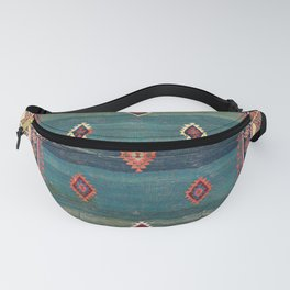 Sivas Antique Turkish Niche Kilim Print Fanny Pack